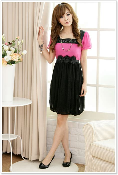 Dress Korea korean fashion dress loe fashion