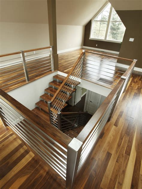 stainless steel staircase railing design ideas remodel