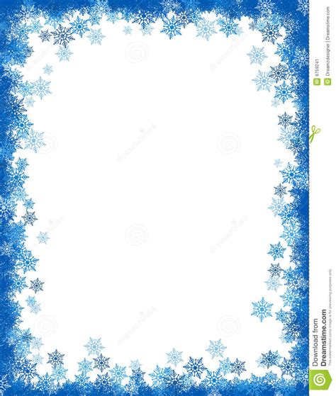 theme line winter 6 best images of free printable winter borders winter