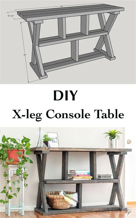 easy diy console best 25 rustic console ideas on pinterest rustic