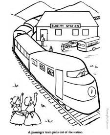 train pictures to print and color coloring home