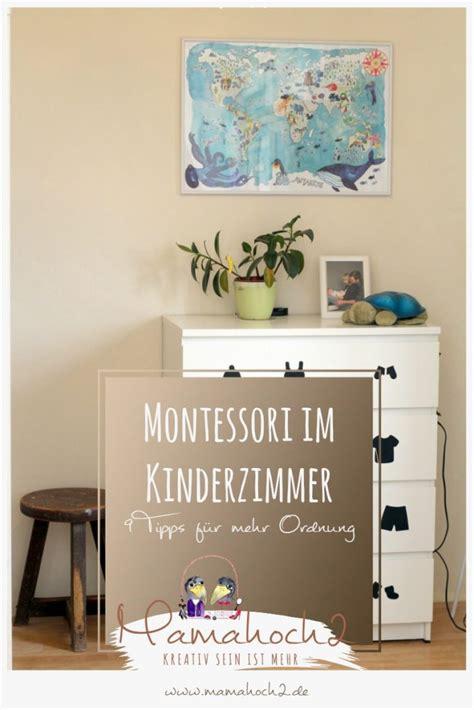 ideen kinderzimmer montessori 9 tipps f 252 r ein bisschen montessori im kinderzimmer