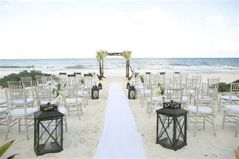 A Tulum, Mexico Beach Wedding at Hacienda Chekul