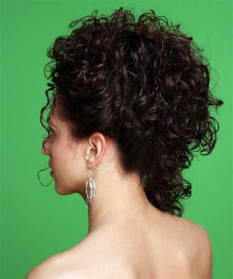 curly hairstyles pinned up pinned up ringlets updo hairstyle