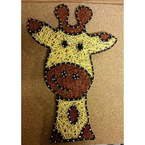 Giraffe String - giraffe string by carlysstringart on etsy string