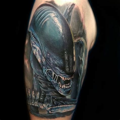 queen xenomorph tattoo xenomorph tattoo by bryan merck xenomorph vs predator