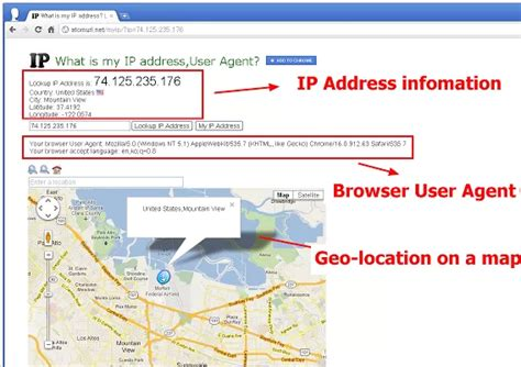 Find Using Address Find Your Ip Address And Physical Location By Using This Chrome Extension
