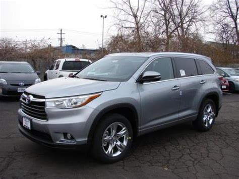 toyota highlander in silver sky metallic 1d6 from 2014 2015 2