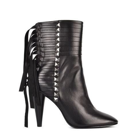 shop fringed leather boots at ash shop the brave studded
