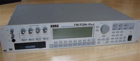 Korg Triton Rack by Korg Triton Rack Image 624181 Audiofanzine