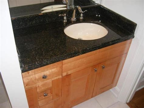 how to install bathroom vanity against wall how to install bathroom vanity against wall l e stone and