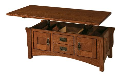 Lift Top Coffee Tables Logan Lift Top Coffee Table Buckeye Amish Furniture