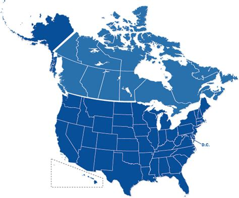 map usa canada map usa canada driverlayer search engine