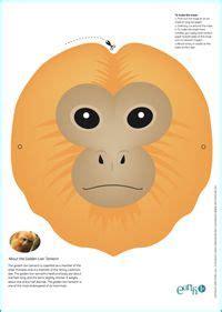 printable endangered animal masks 1000 images about science endangered animals on pinterest