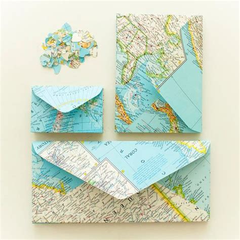 Handmade Envelope Tutorial - set of 10 handmade atlas envelopes standard size diy