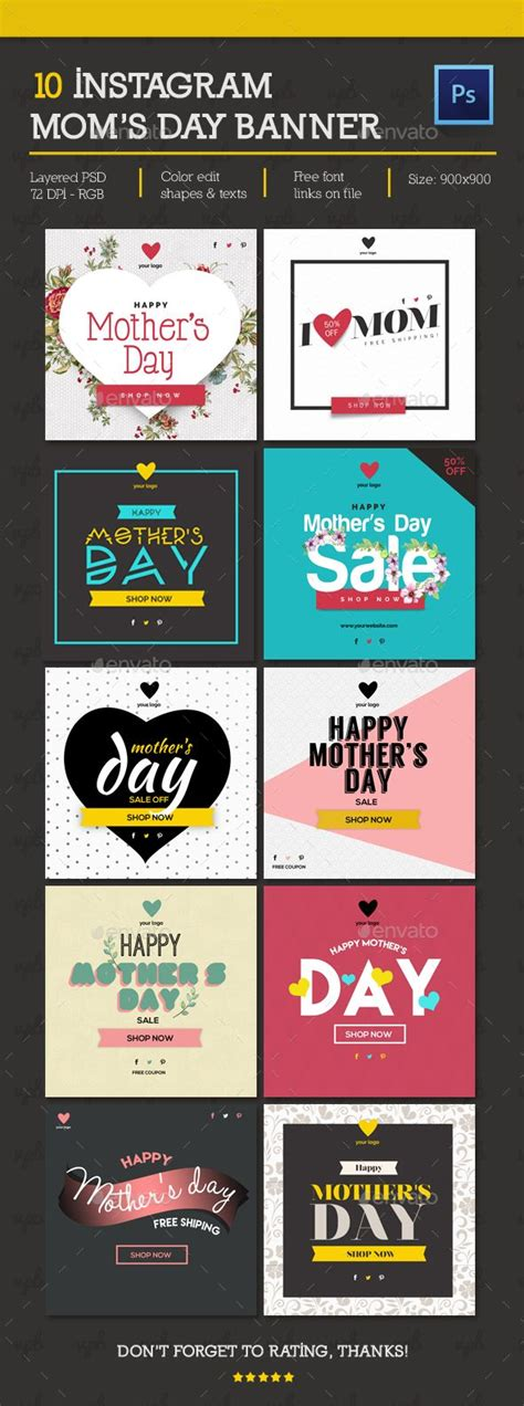 design instagram flyers 25 best ideas about banner template on pinterest