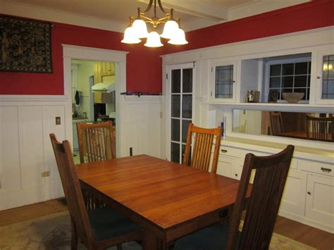 How Much To Stain Kitchen Cabinets laurelhurst 1912 craftsman dining room before 2 hooked