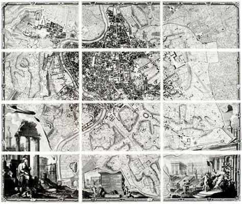 maps the architectural plan as a map drawings by enric miralles the funambulist magazine historical commission on map design