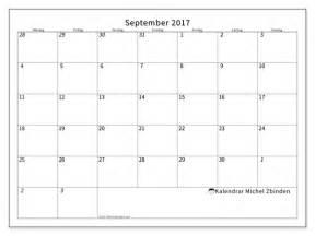 Calendrier Om 2017 Kalender F 246 R Att Skriva Ut September 2017 Deodatus Sverige