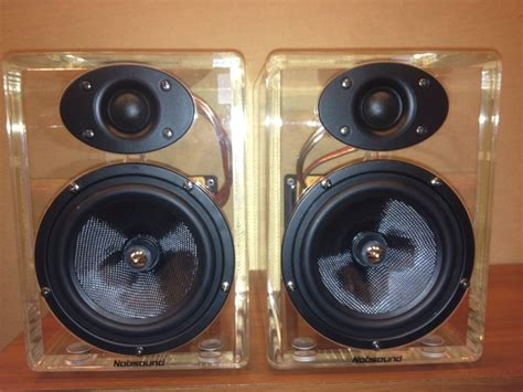 Speaker Acr Second nobsound monitor acrylic speaker 30t soopin