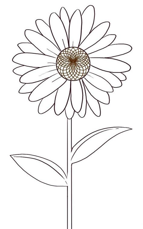 free coloring pages daisy flower daisy flower coloring pages picture 4 stencils coloring