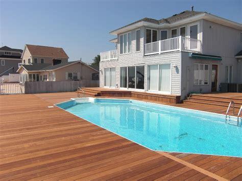 Jersey Shore Ipe Deck   eDeck.com
