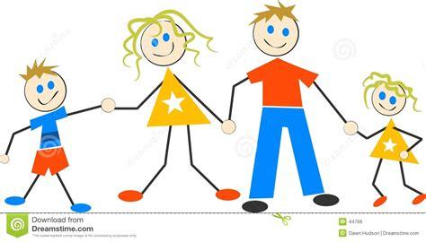 clipart famiglia famiglia felice illustrazione vettoriale illustrazione di