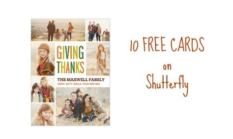 Shutterfly Gift Card Codes - shutterfly coupon code get 10 free cards southern savers