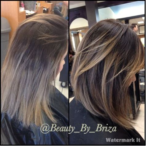 partial highlights for dark brown hair 29 best balayage by briza images on pinterest balayage