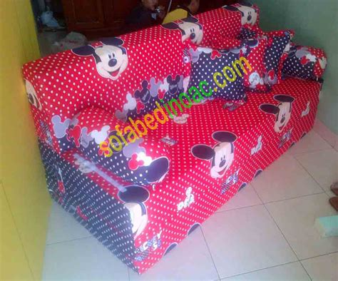 mickey mouse sofa bed spesialis sofabed inoac