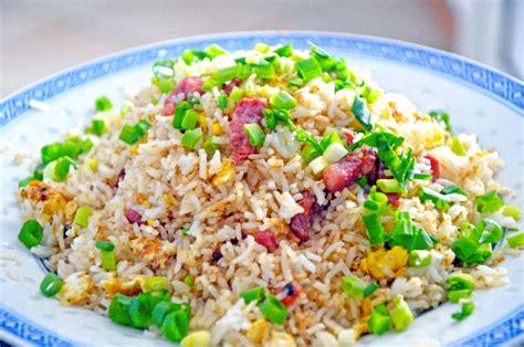 cuisine r騏nionnaise riz aux oeufs et lardons en cuisine r 233 unionnaise