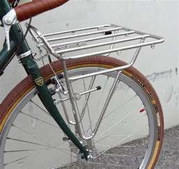 soma deluxe porteur front bicycle rack