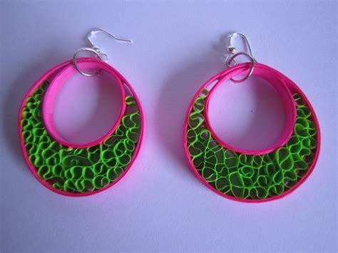 Paper Jewellery Earrings - 3136 best images about quilling jewelry on