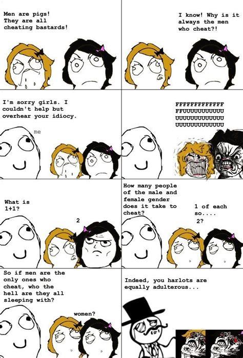 Female Logic Meme - gender equality