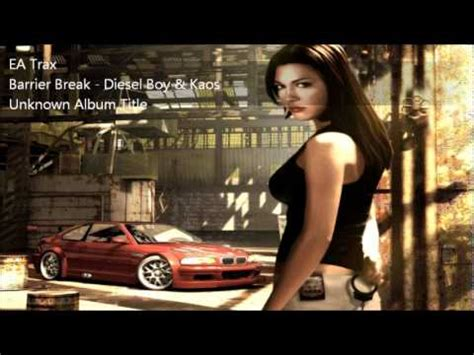 Kaos Need For Speed A nfs most wanted ost barrier diesel boy kaos