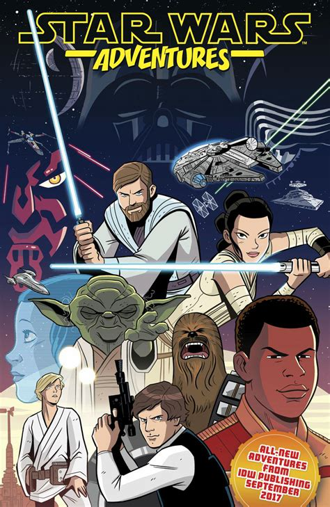 star wars adventures in get a first look at idw s sdcc star wars adventures ashcan comic theforceguide com
