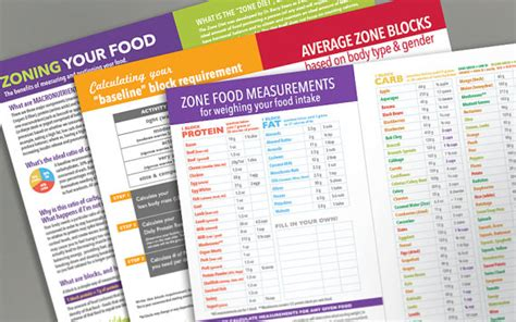 sle of zone diet zone diet journal diary food log printed by us on etsy