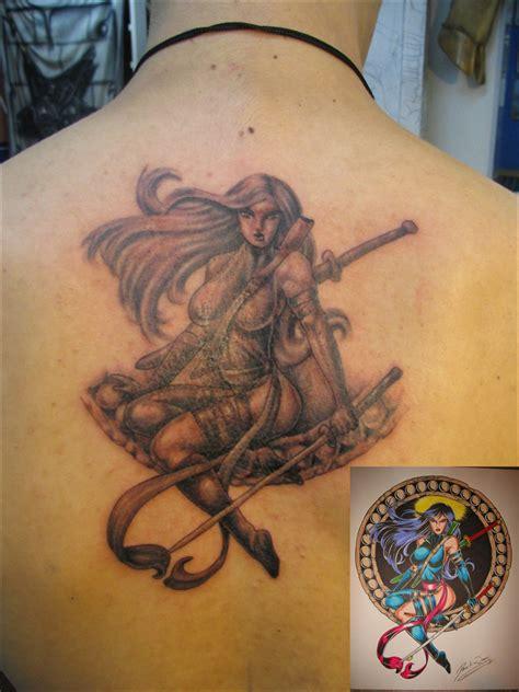 x men tattoos psylocke by sempainir on deviantart