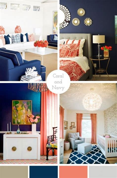 coral bedroom color schemes i love love love a navy and coral color scheme in a