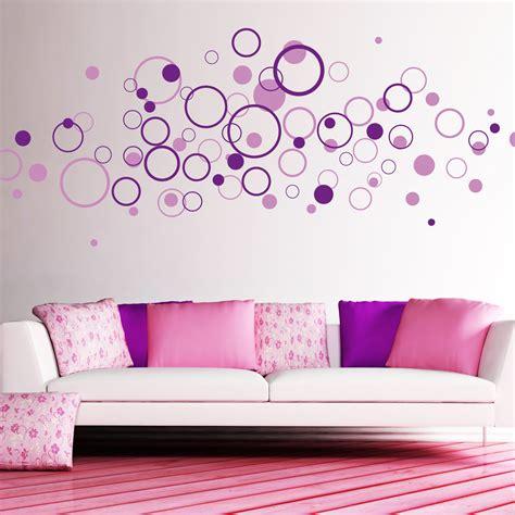 Wandgestaltung Mit Kreisen by Deko Kreise 80 St 252 Ck 2farbig Wandtattoo