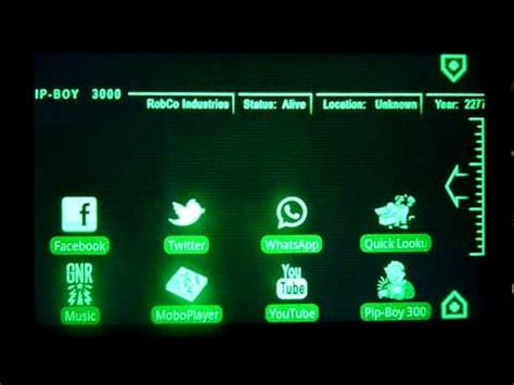 fallout android theme pipboy 3000 fallout 3 theme android app on appbrain