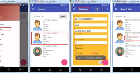 android studio json mysql tutorial android studio indonesia latihan kode program koneksi