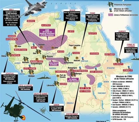 us air force bases in africa map le saviez vous 14 pays africains contraints par la
