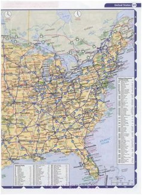 printable road atlas of the united states police departments dads and printable maps on pinterest