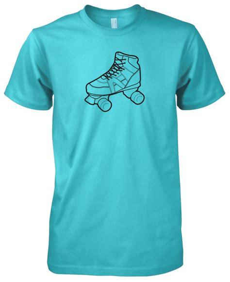 T Shirt Skaters 7 mens american apparel roller skate skating retro t shirt ebay