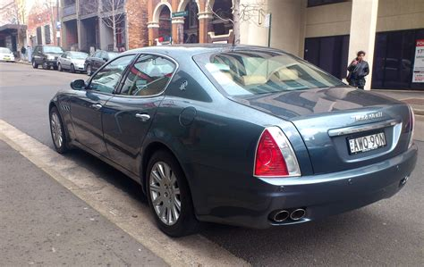 2004 Maserati Quattroporte by 2004 Maserati Quattroporte V Pictures Information And