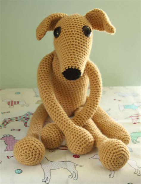 Amigurumi Greyhound Pattern | greyhound whippet sighthound amigurumi crochet my design