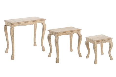 tavoli decapati provenzali set 3 tavolini provenzali mobili provenzali on line