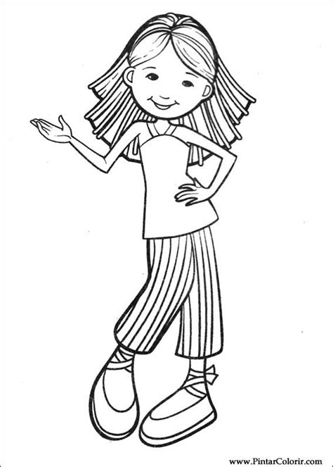 Groovy Coloring Pages Free Free Drawings To Paint Colour Groovy Girls Print Design 035 by Groovy Coloring Pages Free Free