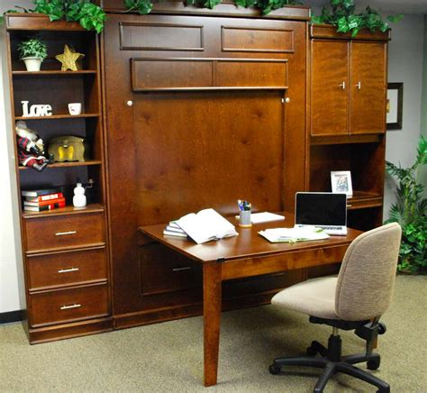 murphy bed with desk furniture murphy bed desk combo with modern chairs what